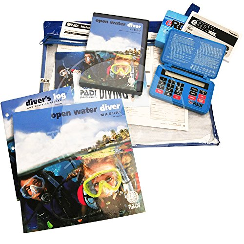 Padi Crewpack Open Water Diver et table de plongée électronique eRDP - Version Ultimate avec DVD - VF