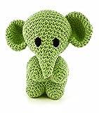Hoooked Amigurumi Eco Barbante DIY-Häkelset Elefant