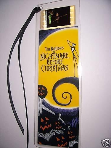nightmare-before-christmas-tim-burton-movie-film-cell-bookmark