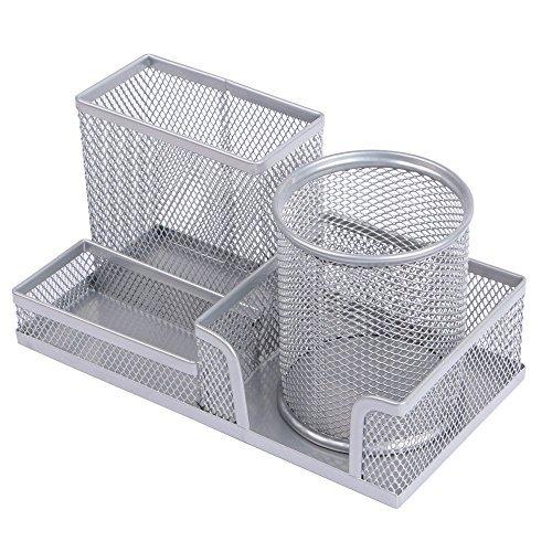 Eagle multifunzionale organizer da scrivania/portapenne in rete metallica, con una matita mobili tazza