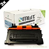 3x MWT Premium Toner ersetzt HP CC364X / 64X Patronen - für LaserJet P 4015 DN N TN X 4016 A 4017 & P4015 P4015DN P4015N P4015TN P4015X P4016A - deutsche Qualität von MWT - kein Original