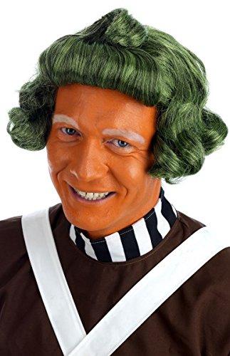Fun Shack Herren Costume Kostüm Mens Oompa Loompa Wig, ()