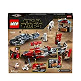 LEGO 75250 Star Wars Pasaana Speeder Chase Treadspeeder Tracked Vehicle Building Set, The Rise of Skywalker Collection, Multicolour