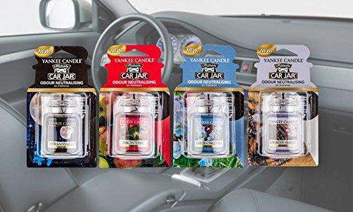 2x 3d Ufficiale Yankee Candle Car Jar Ultimate Deodoranti Per Auto