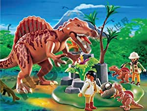 Playmobil - 4174 Spinosaurus with Dino Nest And Two