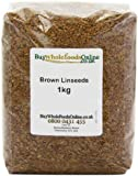 Buy Whole Foods Brown Linseeds 1 Kg