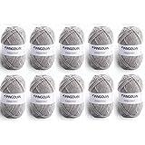 Pingouin - 10 pelotes de laine à tricoter Pingouin PINGO FIRST souris pas cher 100%...