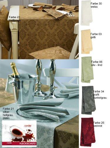 sander Tischläufer BRILLANT 50x140 silber/grau (21)