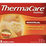 ThermaCare Air-Activated Heatwraps, Menstrual Cramp Relief 3 ea by ThermaCare