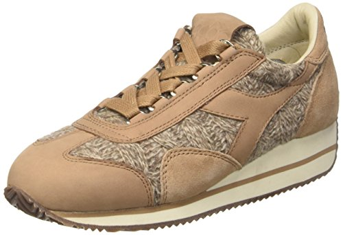 Diadora Damen Equipe Hh Tricot Turnschuhe Marrone (Dark Brown)