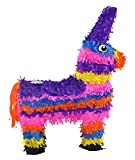 Trendario Pinata Esel, Piñata für Kindergeburtstag Spiel, Geschenkidee, Party, Hochzeit, 57x37 cm