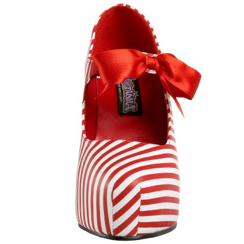 CANDYCANE-48 Red-Wht Stripes Pu