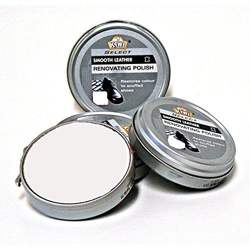 box-of-12-tins-of-kiwi-select-renovating-polish-in-beige