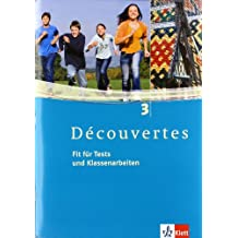 Découvertes / Fit für Tests und Klassenarbeiten: Arbeitsheft mit  CD-ROM - Band 3