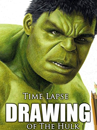 Image of Time Lapse Drawing of The Hulk