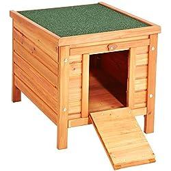 VivaPet Gato/Perro/Conejo/Guinea Pig de Madera Hide casa-50x 42x 43cm