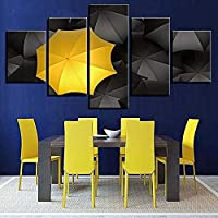 JWLSDT 5 Canvas Paintings Hd Prints Home Decoration Wall Art Umbrella Pictures Artwork Kids Room Poster Framed