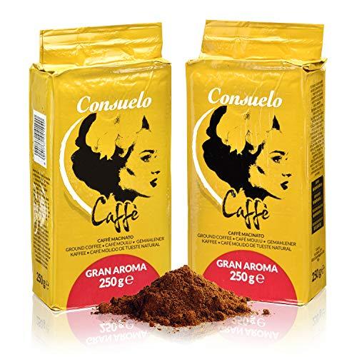 Consuelo Gran Aroma - Café molido italiano - 2 x 250g