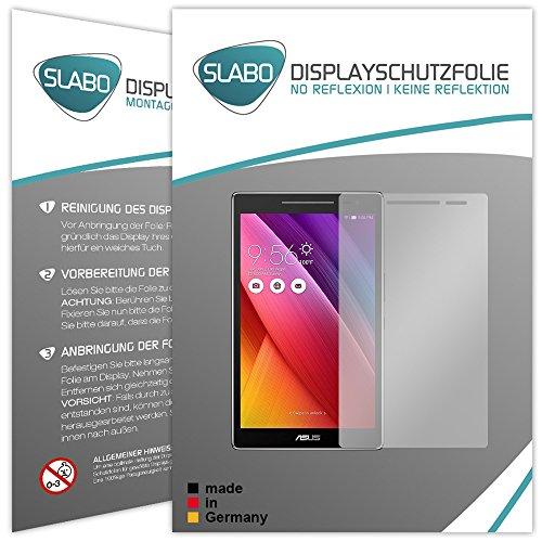 Slabo 2 x Bildschirmschutzfolie ASUS ZenPad 8.0 Bildschirmschutz Schutzfolie Folie No Reflexion|Keine Reflektion MATT - Entspiegelnd Made IN Germany