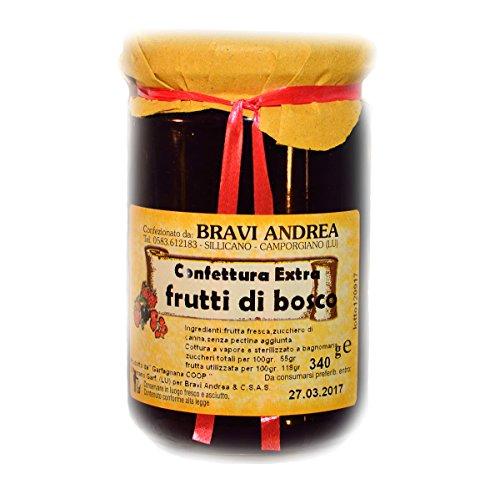Confettura Extra Frutti di Bosco 340 g - Salumificio Artigianale Gombitelli - Toscana