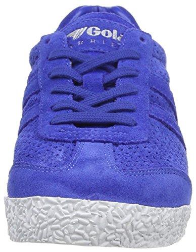 Gola Harrier Squared, Baskets Basses femme Bleu - Blue (Reflex Blue)