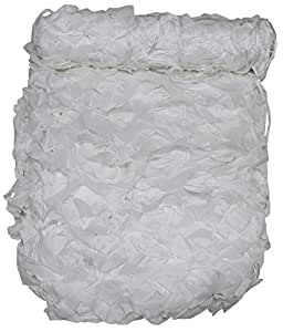 Filet de camouflage 3 x 2 m + basic pVC-blanc avec sac de transport