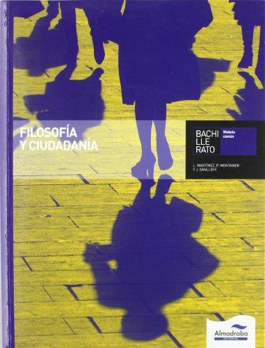 Filosofía y ciudadanía. Bachillerato - 9788483087077