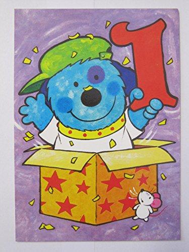 hallmark-jack-in-the-box-orso-e-mouse-1-1st-compleanno-biglietto-di-auguri