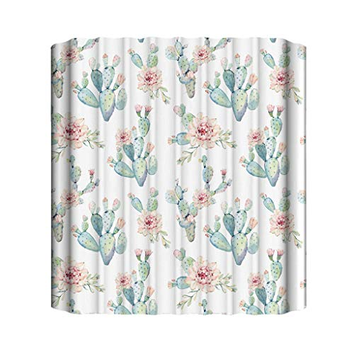 MDenker Badezimmer Duschvorhang, Anti-Schimmel 100% Polyester Badewanne Duschvorhänge, 3D Effekt...