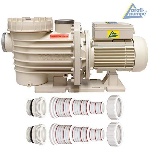 Schwimmbadpumpe, Poolpumpe - Filterpumpe Schwimmbad/Swimmingpool, energiesparsam zuverlässig und effektiv, leichte Filterreinigung (POOL-STAR-2000W)