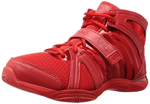 Ryka Women's Tenacity Cross-Trainer Shoe, Red, 10 M US (Studio Ryka Womens)