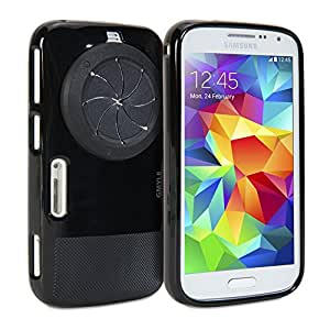 GMYLE Galaxy K Zoom Housse, Zoom Case with Lens Cover pour