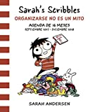 Agenda Sarah's Scribbles : organizarse no es un mito