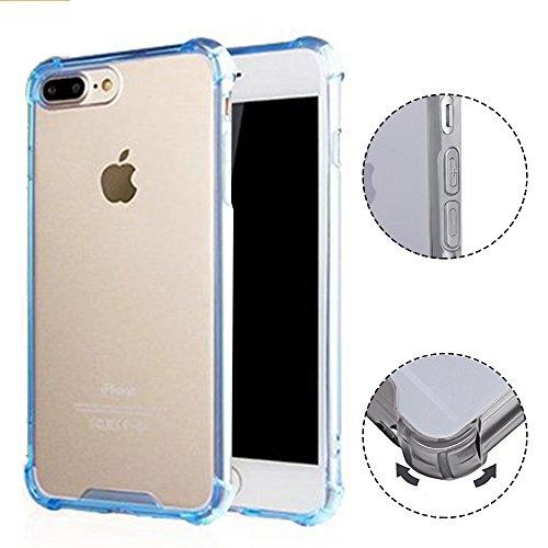 iPhone 7 Hülle TPU Case, AVIDET Ultra Slim TPU Case für iPhone 7 Schutzhülle (Blau) Grün
