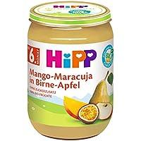 Hipp Früchte, Mango-Maracuja in Birne-Apfel, 6er Pack (6 x 190 g)