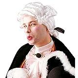 Weisse Barock Perücke Musiker Rokokoperücke Rokoko Barockperücke Kostüm Zubehör Pianist Komponist Karnevalsperücke Faschingsperücke weiß