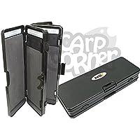 Carp Fishing Tackle anzuelos de pesca tipo cartera 6way caja para almacenar hasta 72aparejos de pelo NGT