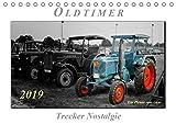 Oldtimer - Trecker Nostalgie (Tischkalender 2019 DIN A5 quer): Nostalgische Trecker - geliebte Kraftpakete, die viele in ihren Bann ziehen (Geburtstagskalender, 14 Seiten ) (CALVENDO Technologie)