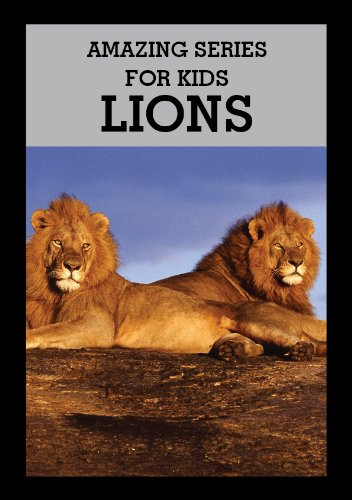 Amazing Series for Kids: Discover Lion Picture Book (English Edition) -