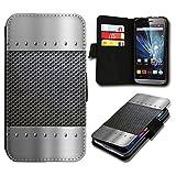 Book Style Huawei Ascend Y330 Premium PU-Leder Tasche Flip