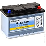 Tudor - Batería plomo de tracción FF12060 12V 60Ah A