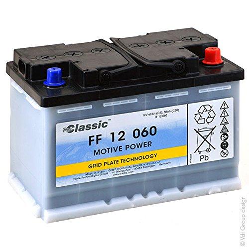 Tudor - Batteria piombo trazione FF12060 12V 60Ah A
