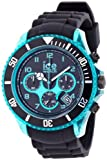 Ice-Watch Armbanduhr Ice-Chrono Big Big schwarz/türkis CH.KTE.BB.S.12