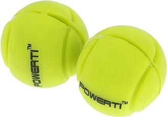 Sharplace 2er Set Premium Silikon Vibrationsdämpfer Schwingungsdämpfer für Tennisschläger Squashschläger