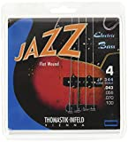 Thomastik Saiten für E-Bass Jazz Bass Flat Wound Satz JF344 4-string long scale 34""