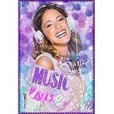 Violetta–Manta/forro polar–Manta/Auto–Diseño: Music, Love + Passion–120x 140cm–Colcha/