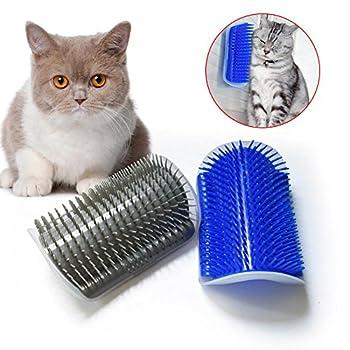 Symboat Chat massage brosse peigne coin mur auto toiletteur toilettage chaton fournitures durable jouet