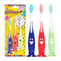 Smiley Child Toothbrush super soft hair Toothbrush gum (pack of 3)
