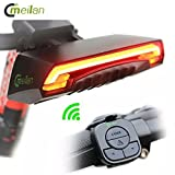 MEILAN X5 SMART BIKE TAIL LIGHT LED ROJO LUZ TRASERA REFLECTOR INTELIG
