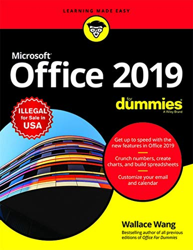 Microsoft Office 2019 For Dummies